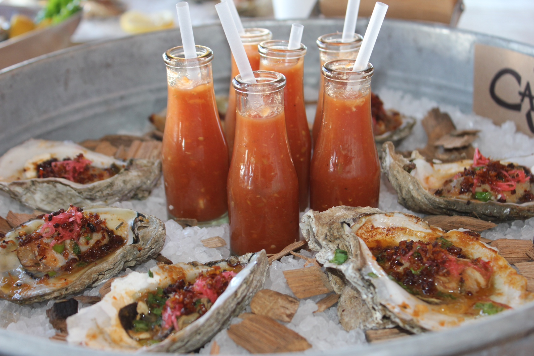 oyster shooter recipes