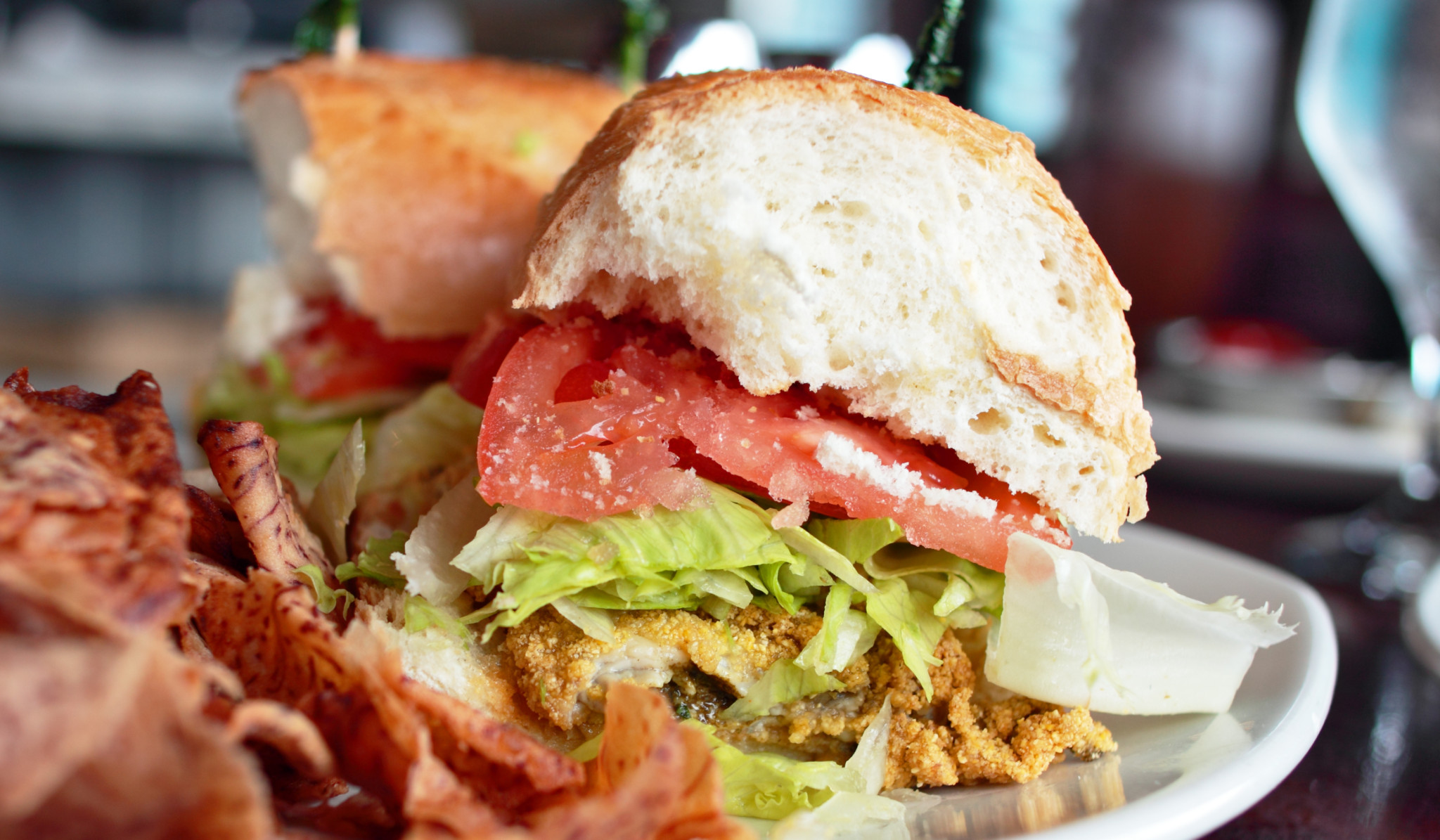 oyster sandwich recipes